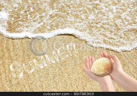 At the seaside stock photo, Your dreamed holiday by Diana