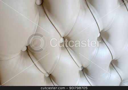 leather sofa texture stock photo, creamy antique leather sofa texture close up by Desislava Dimitrova