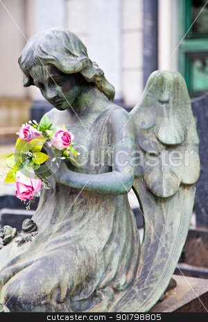 Cemetary architectures - Europe stock photo, Collection of the most beautiful and moving architectures examples in European cemetaries by Perseomedusa