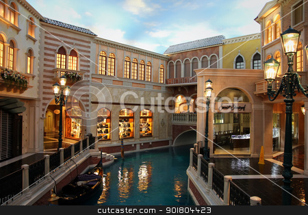 Venetian Style stock photo, The Venetian Resort Hotel Casino on 2 July, 2012 in Vegas, US. by Bagiuiani Kostas