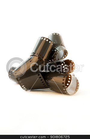 Photography Filmstrip Roll stock photo, Photography Filmstrip Roll by Mehmet Şensoy