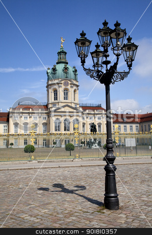 Schloss Charlottenburg stock photo, The magnificent Schloss Charlottenburg in Berlin. by Chris Dorney