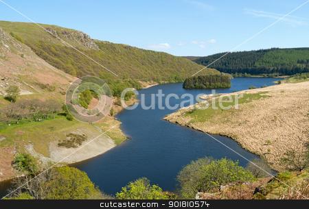 PenyGarreg reservoir in the Elan Valley Wales UK. stock photo, PenyGarreg reservoir in the Elan Valley Wales UK. by Stephen Rees