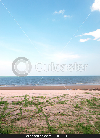 Landscape of  beach in Thailand stock photo, Landscape of beach in Thailand      by jakgree