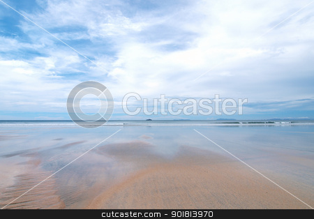 Landscape of Payam Island stock photo, Landscape of Payam Island beach in Thailand by jakgree