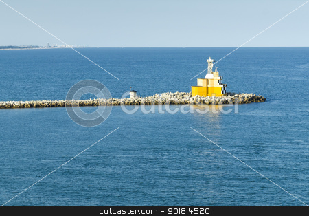 Venice lighthouse stock photo, An image of the lighthouse at Venice in Italy by Markus Gann