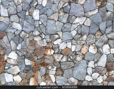 Abstract background of stone wall texture stock photo, Abstract background of stone wall texture by jakgree
