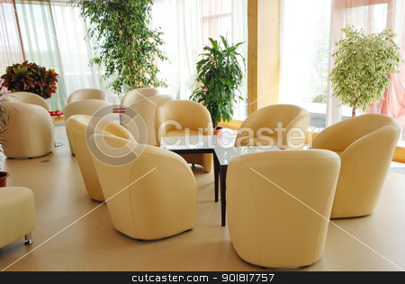 rendering Interior fashionable living-room stock photo, rendering Interior fashionable living-room. by Vadim
