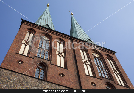Nikolaikirche (Church of St. Nicholas) - Berlin stock photo, Nikolaikirche in Berlin, Germany. by Chris Dorney