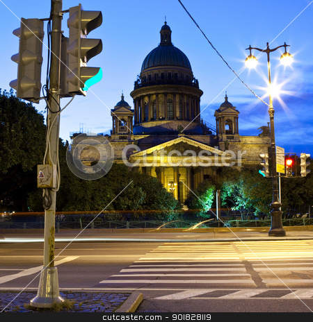 St. Isaac's Cathedral in St Petersburg