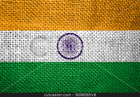 flag of India stock photo, very big size illustration country flag of India by Tudor Antonel adrian