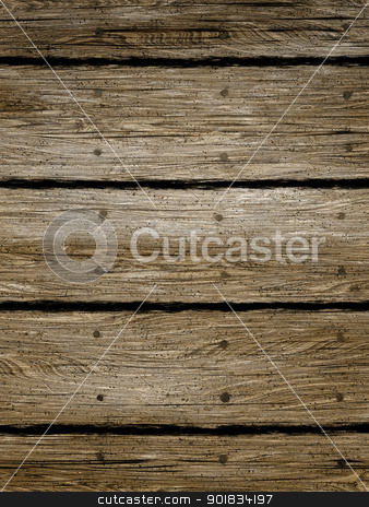dark wood background stock photo, An image of a dark wood background by Markus Gann