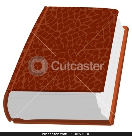 Vintage book stock vector clipart, Vintage book by Oleksandr Kovalenko