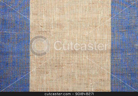 Canvas texture stock photo, Background of a canvas texture by Vladimir Gladcov