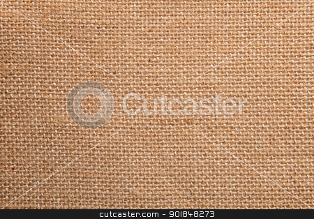 Brown canvas texture stock photo, Background of a brown canvas texture by Vladimir Gladcov