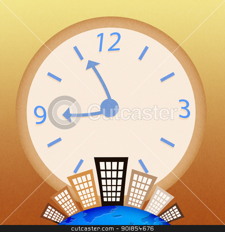 Conceptual image - Business time stock photo, Conceptual image - Business time by jakgree