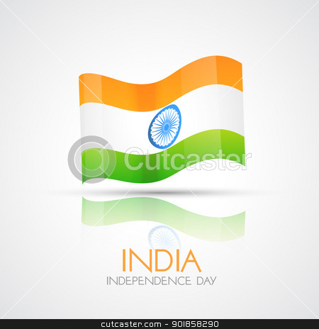 India Flag stock vector clipart, vector india flag design illustration by pinnacleanimates
