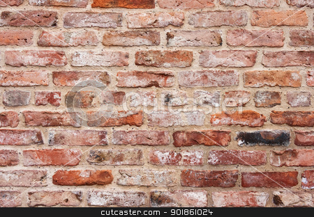 Brick Wall stock photo, Brick Wall by Darren Pullman