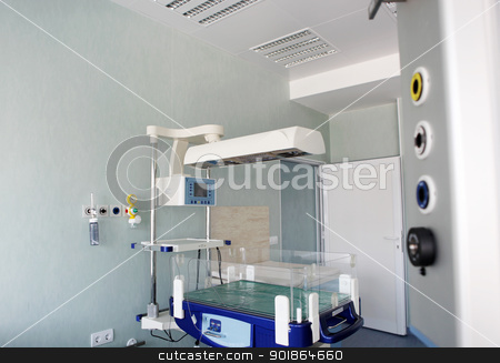 hospital stock photo, hospital interior. by Nenov Brothers Images