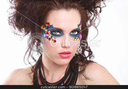 Extreme High Fashion Conceptual Beauty Image stock photo, High Fashion Conceptual Beauty Image by Katrina Brown
