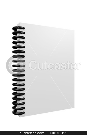 Notebook stock photo, Notebook by genialbaron