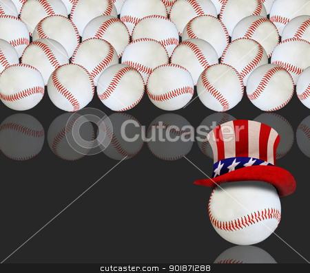 USA Baseball. stock photo,  by WScott