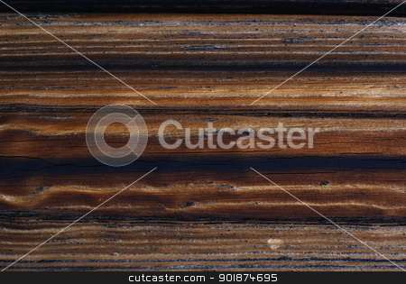 Old wood. stock photo, Background - old wood with knots. by Piotr Skubisz