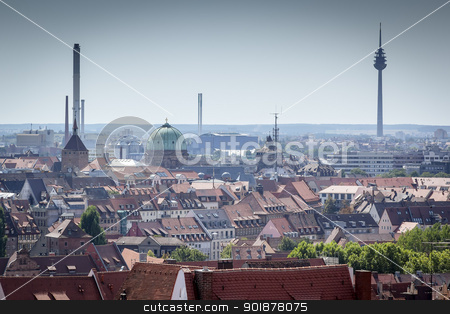 Nuremberg stock photo, An image of Nuremberg in Bavaria Germany by Markus Gann