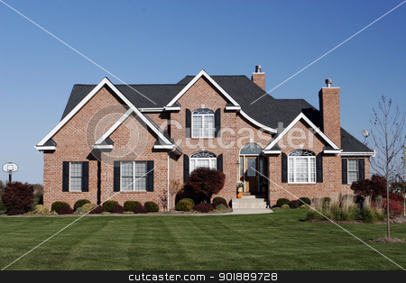 hhouse for sale subdivision stock photo, house for sale subdivision neighborhood street by pasphotogaphy