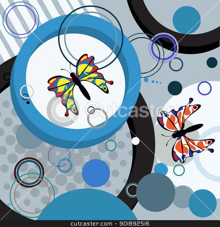 Иконка картинки abstract butterfly новое меню