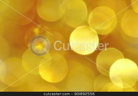 Christmas background stock photo, Abstract Christmas background of silver and gold chain by Ondrej Vladyka