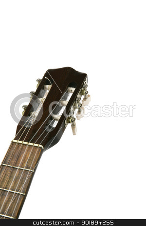 Guitar neck stock photo, Guitar neck by photography33