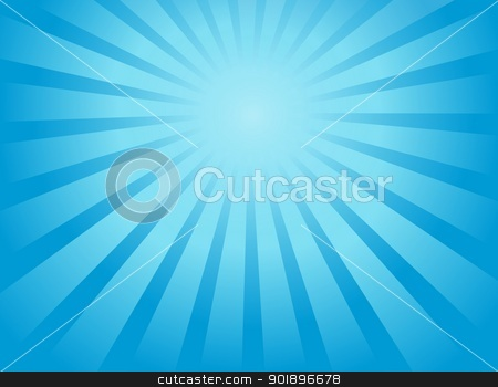 Ray theme abstract background 1 stock vector clipart, Ray theme abstract background 1 - vector illustration. by Klara Viskova