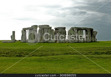 Stonehenge stock photo, Stonehenge is a prehistoric monument located in the English county of Wiltshire.One of the most famous sites in the world. by mariana