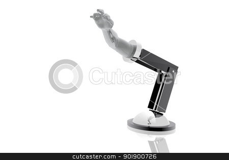 Artificial arm stock photo, Artificial arm by genialbaron
