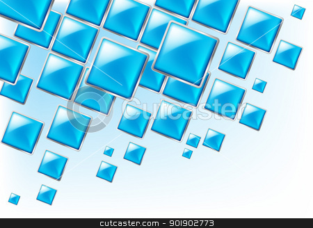 Square background stock photo, Square background abstract of techno style. Horizontal Illustration for design. by dvarg