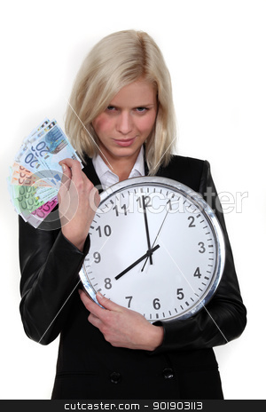 Time is money stock photo, Time is money by photography33