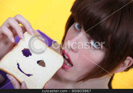 What about a bite? stock photo, What about a bite? by photography33