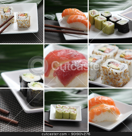 Gastronomia japonesa stock photo, Gastronomia japonesa by photography33