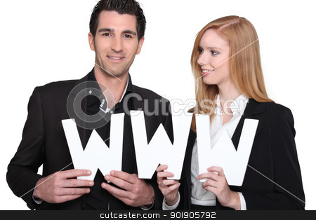 couple of internet users stock photo, couple of internet users by photography33