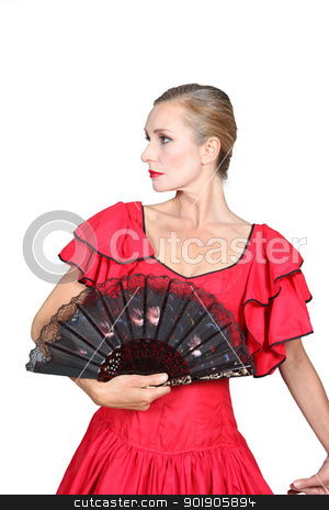 Spanish woman stock photo, Spanish woman by photography33