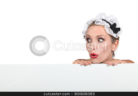 close-up of a woman in costume stock photo, close-up of a woman in costume by photography33