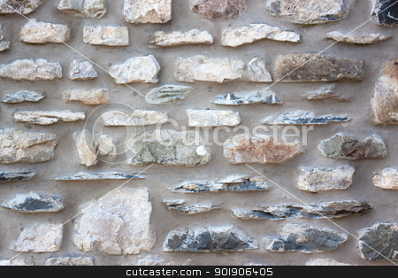 Stone Wall stock photo, Stone wall detail background by Darren Pullman