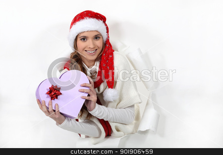 Merry Christmas honey stock photo, Merry Christmas honey by photography33