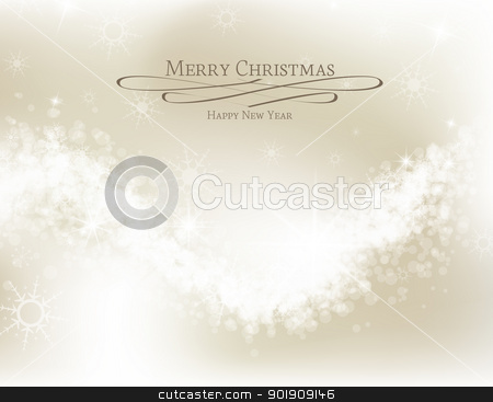 Christmas background stock vector clipart, Abstract Christmas background with white snowflakes  by Miroslava Hlavacova