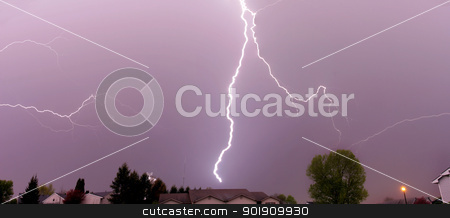 lightning stirkes flash thunder storm stock photo, lightning strike sky thunder storm flash by pasphotogaphy