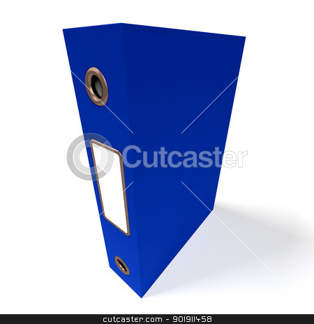 Blue File For Getting Office Organized stock photo, Blue File For Getting Office Better Organized by stuartmiles