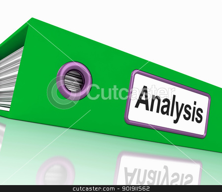 Analysis File Contains Data And Analyzing Documents stock photo, Analysis File Containing Data And Analyzing Documents by stuartmiles
