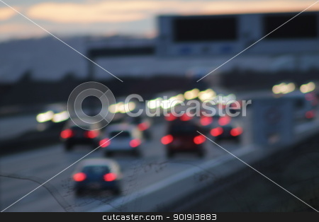 highway blur stock photo, highway blur by Tobias Arhelger