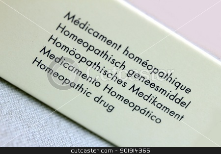 polyglot homeopathic drug packaging stock photo, polyglot homeopathic drug packaging by Tobias Arhelger